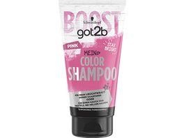 SCHWARZKOPF GOT2B Color Shampoo Pink