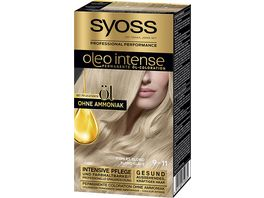 syoss Oleo Intense Permanente Oel Coloration 9 11 Kuehles Blond