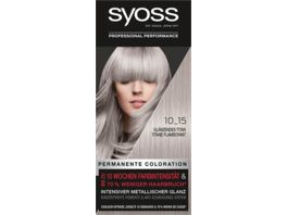 syoss Coloration Stufe 3 10 15 Glaenzendes Titan