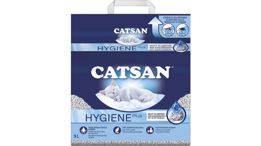 CATSAN™ Hygiene Plus Katzenstreu 9l