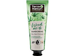 Terra Naturi Handcreme Weed Me mit Bio Hanf Extrakt