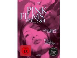 Pink Films Vol 3 4 Abnormal Family Blue Film Woman Special Edition DVD