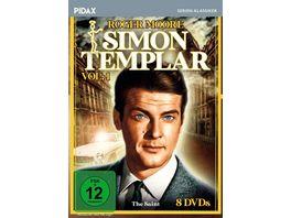 Simon Templar Vol 1 26 Folgen der Kultserie mit James Bond Darsteller Roger Moore Pidax Serien Klassiker 8 DVDs
