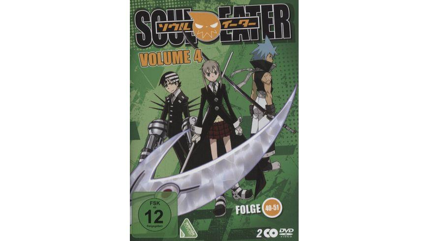 Soul Eater Vol 4 Episoden 41 51 2 DVDs