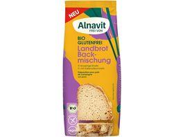 Alnavit Bio Landbrot Backmischung glutenfrei