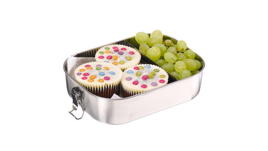 Lunchbox aus Edelstahl 1 4l