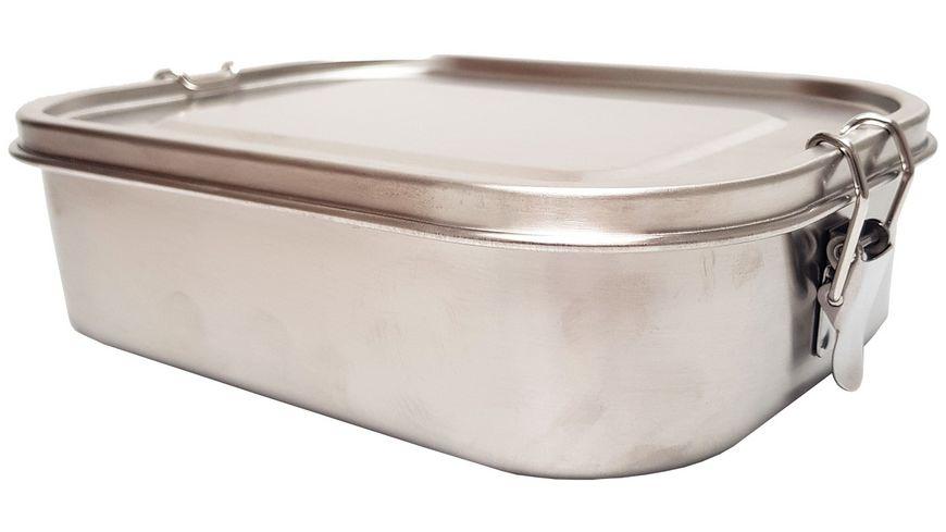 TRENDSHOP Lunchbox aus Edelstahl 1,4l