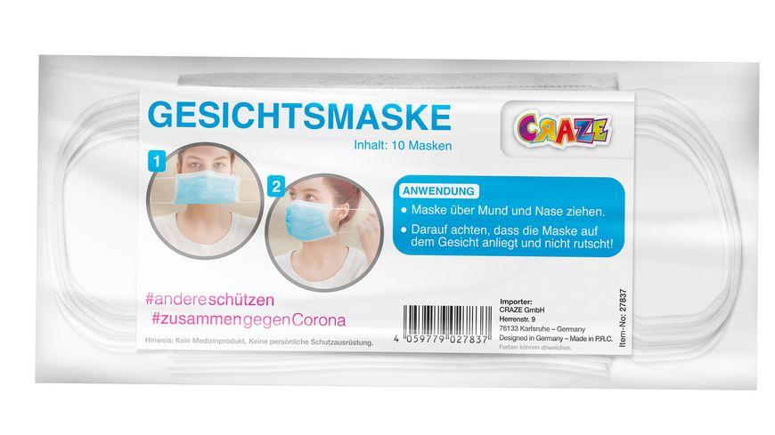 Mund und Nasenmaske