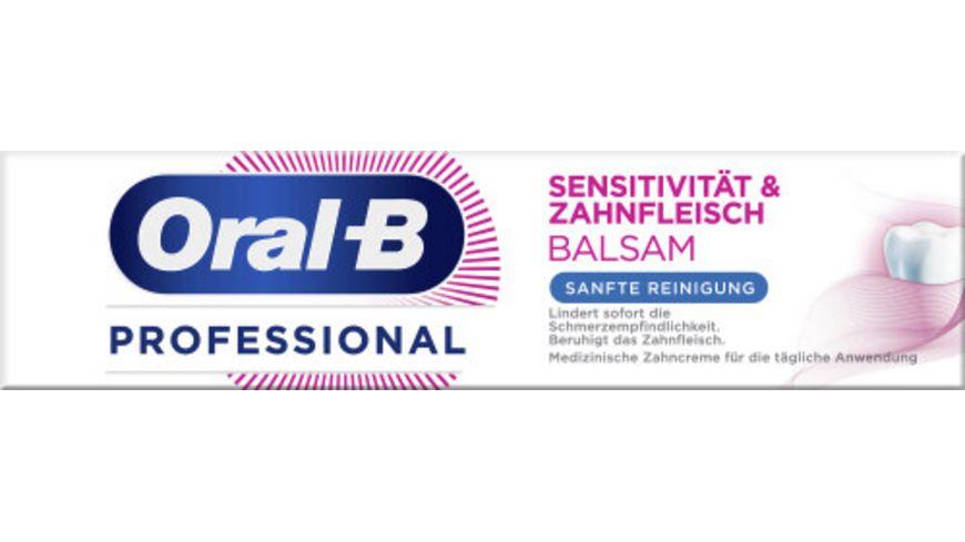 Oral B Professional Sensitivitaet und Zahnfleischbalsam Sanfte Reinigung 75ml