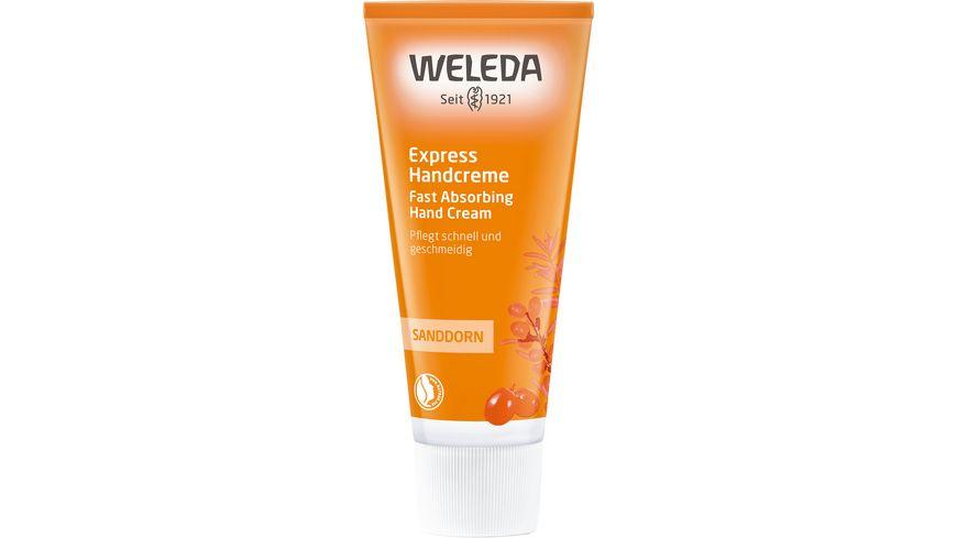 WELEDA Sanddorn Handcreme Express