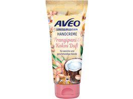 AVEO Handcreme Frangipani Kokos Duft