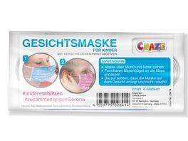 Mund und Nasenmaske mit Kindermotiv