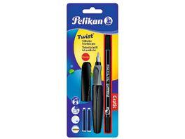 Pelikan Fuellhalter Twist Tintenloescher gratis