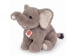 Teddy Hermann Elefant sitzend 35 cm
