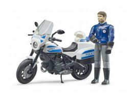 BRUDER bworld Scrambler Ducati Polizeimotorrad 62731