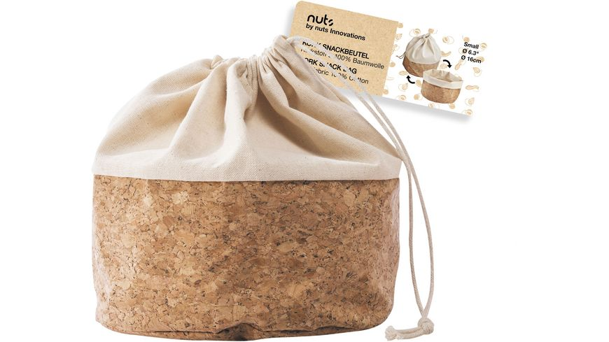 nuts Brotbeutel 16cm