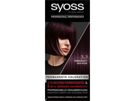 syoss Coloration 3 3 Dunkelviolett Stufe 3