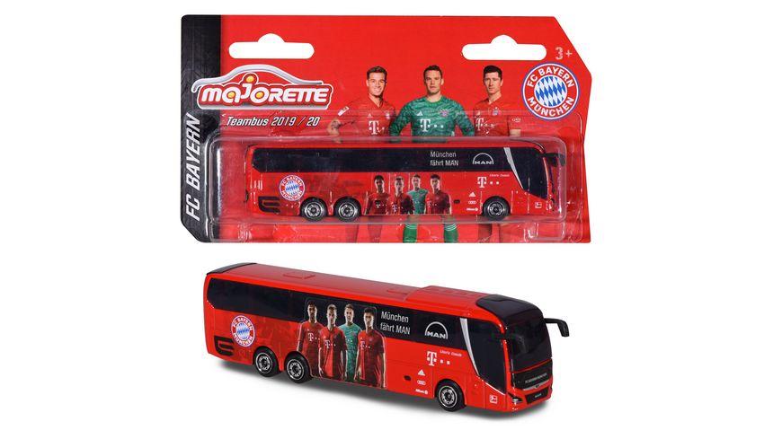 Majorette FC Bayern Muenchen Mannschaftsbus MAN Lion s Coach L Supreme Saison 19 20