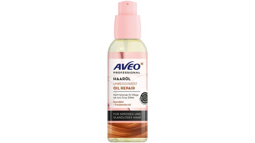 AVEO Professional Haaröl Unbeschwert Öl Repair