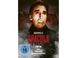 Dracula 3 DVD Box Dracula Draculas Rueckkehr Wie schmeckt das Blut von Dracula 3 DVDs