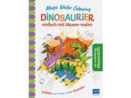 Magic Water Colouring Dinosaurier einfach mit Wasser malen