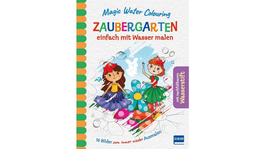 Magic Water Colouring Zaubergarten einfach mit Wasser malen