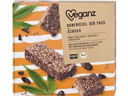BIO Veganz Hanfriegel Schoko 3er Pack