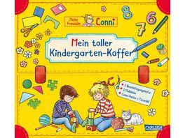 Conni Gelbe Reihe Mein toller Kindergarten Koffer Buch Set fuer den Kindergarten