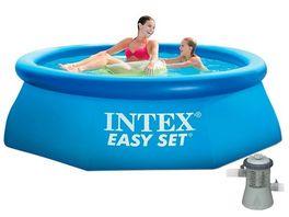 Intex Easy Set Quick Up Pool 244x76 mit Pumpe