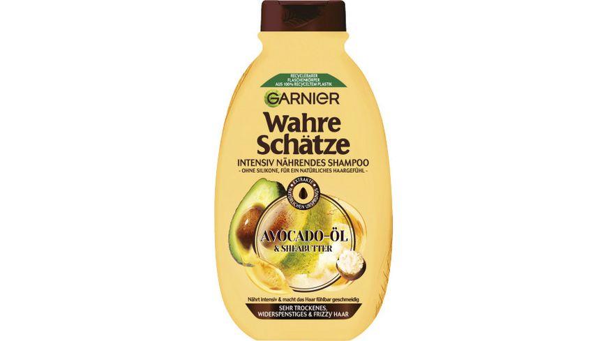GARNIER Wahre Schaetze Intensiv Naehrendes Shampoo Avocado Oel Sheabutter