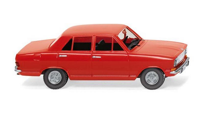 Wiking 079004 -  1:87 Opel Kadett B - verkehrsrot