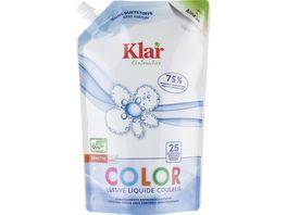 Klar EcoSensitive Colorwaschmittel OHNE DUFT Oeko Pack