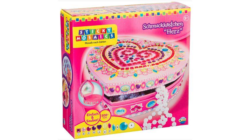 Sticky Mosaics - Schmuckkästchen Herz