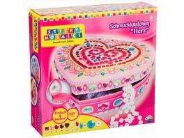 Sticky Mosaics Schmuckkaestchen Herz