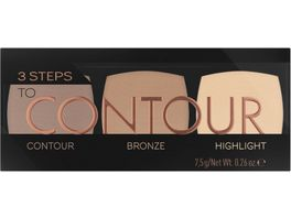 Catrice 3 Steps To Contour Palette