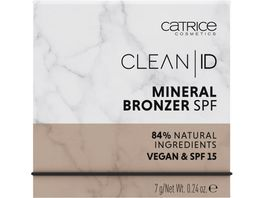 Catrice Clean ID Mineral Bronzer SPF