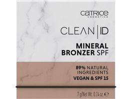 Catrice Clean ID Mineral Bronzer SPF