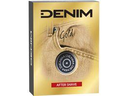 Denim Aftershave Gold 100ml