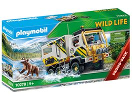 PLAYMOBIL 70278 WILD LIFE Expeditionstruck