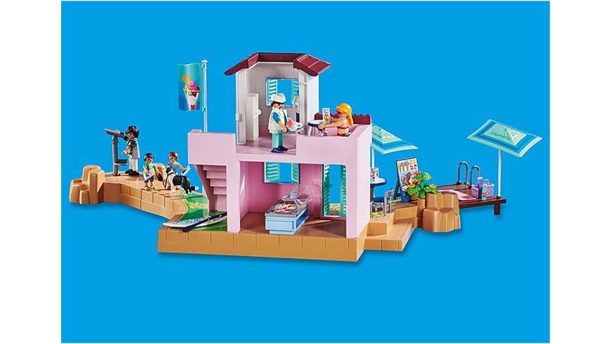 PLAYMOBIL 70279 Family Fun Eisdiele am Hafen
