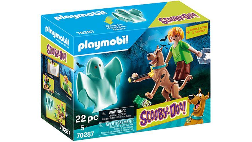 PLAYMOBIL 70287 - SCOOBY-DOO! - Scooby und Shaggy mit Geist