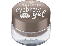 essence eyebrow gel colour shape