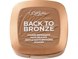 L OREAL PARIS Back to Bronze Gentle Matte Bronzing Powder
