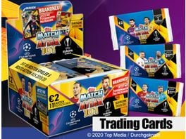 Topps UEFA Champions League Match Attax 101 2019 2020 Trading Cards 1 Booster