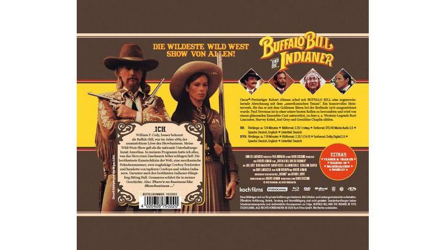 Buffalo Bill und die Indianer Mediabook DVD