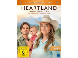 Heartland Paradies fuer Pferde Staffel 11 1 3 DVDs
