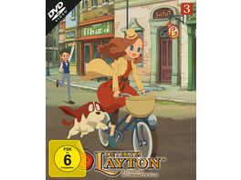 Detektei Layton Katrielles raetselhafte Faelle Volume 3 Episode 21 30 2 DVDs