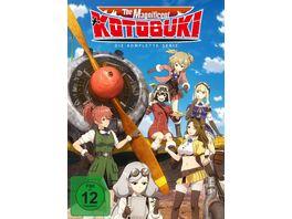 The Magnificent Kotobuki Gesamtbox Episode 1 12 3 DVDs