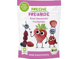 Freche Freunde Bio Roter Beerenmix Fruchtchips