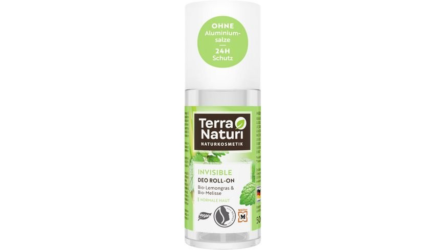 Terra Naturi Deo Roll On Invisible mit Lemongrass Melisse
